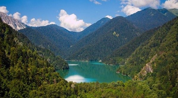 Lake Ritsa Tourist Destinations in Georgia
