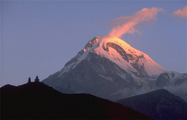 Mount Kazbek Tourist Destinations in Georgia
