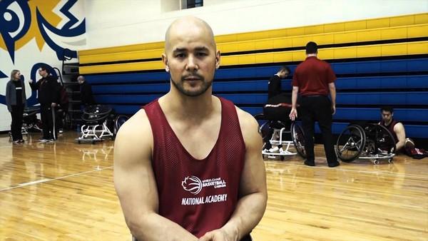 Wheelchair Basketball David Eng