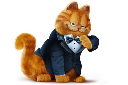 As a Comic Strip Character Garfield