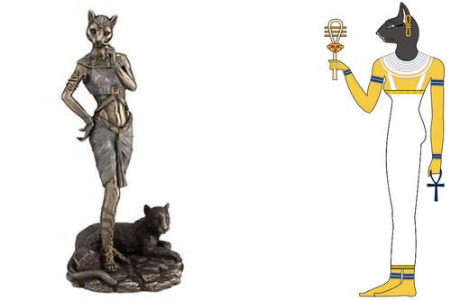 As a Pagan Goddess of Ancient Egypt, Bastet