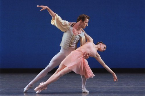 Ballerina and Danseur
