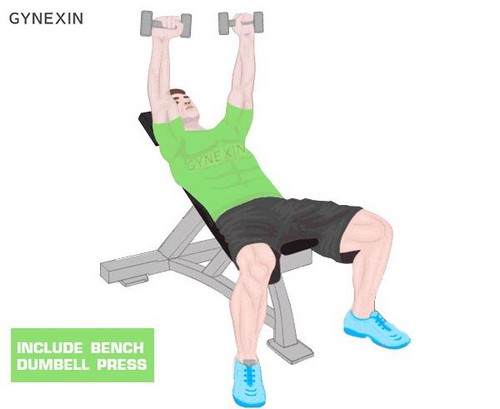 Incline Dumbell Press