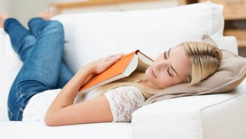Woman daytime naps