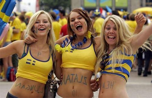 Beautiful Swedish Ladies