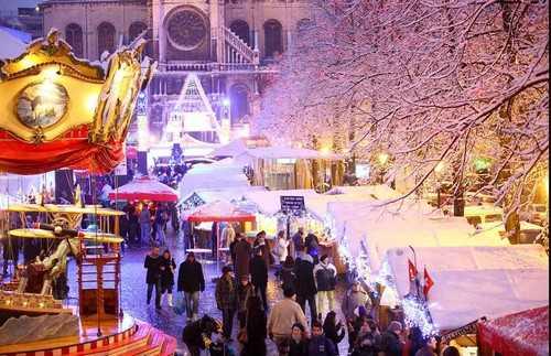 Christmas Market Brussels, Belgium