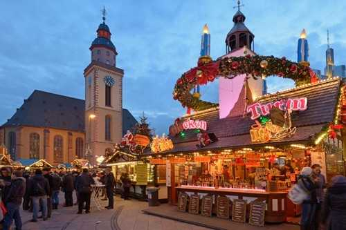 Christmas Market Frankfurt, Germany