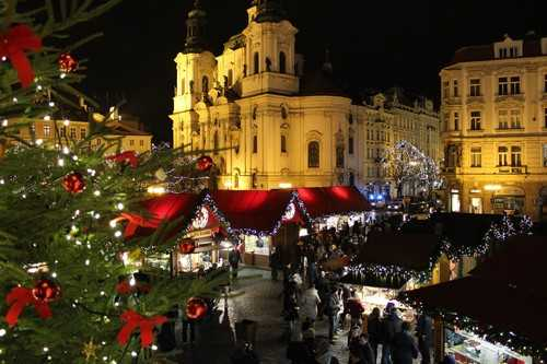 Christmas Market Prague, Czech Republic