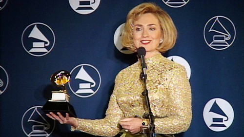 Hillary Clinton A Grammy Award Winner