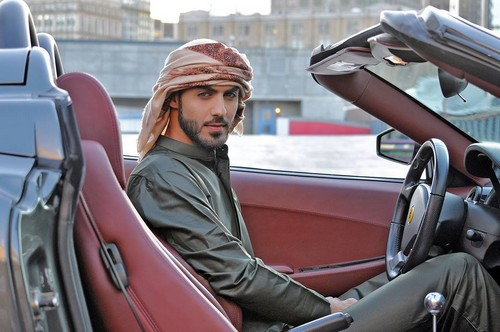 Most handsome Man Omar Borkan Al Gala