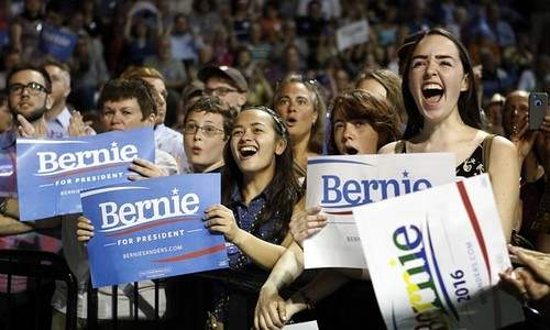 Young Voters For Sanders