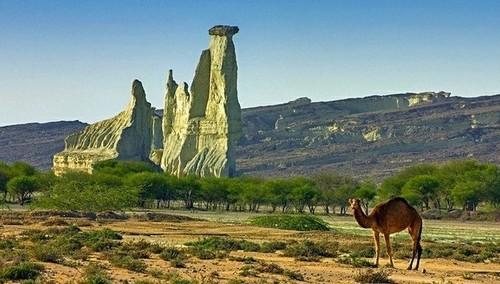 A rock near Pishkun Balochistan