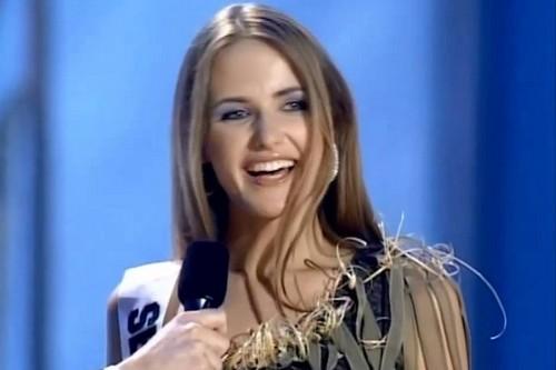 Sanja Papic Miss Universe 2003
