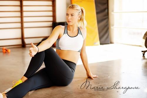 Sizziling Tennis Star Maria Sharapova