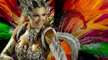Brazilian Carnival Beauty