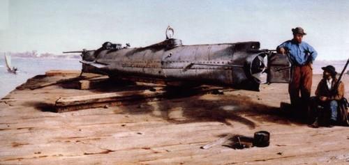 CSS H. L. Hunley - 1863