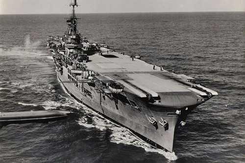 HMS Ark Royal II - 1937