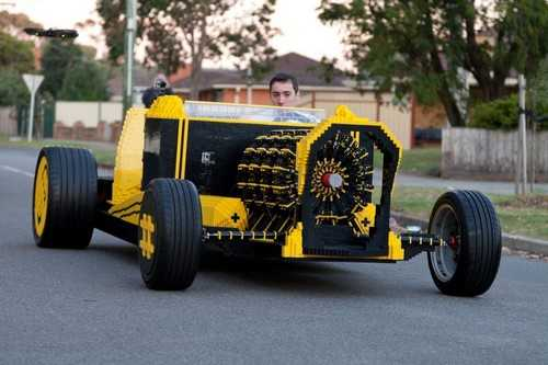 Largest Lego Car