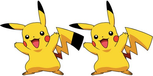Pikachu doesn't have a black tip tail