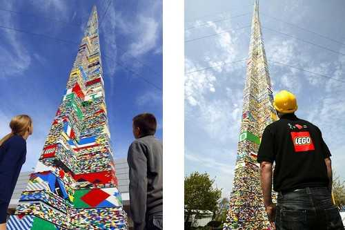 The Tallest Lego Tower