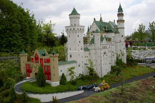 The largest Lego castle