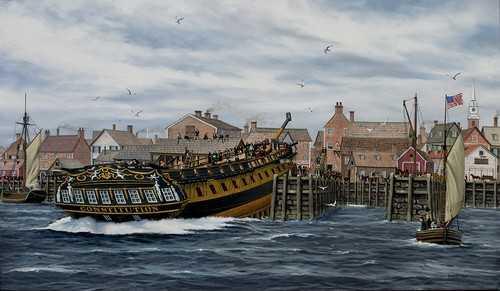 USS Constitution - 1797