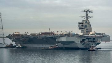 USS Gerald R. Ford - 2016