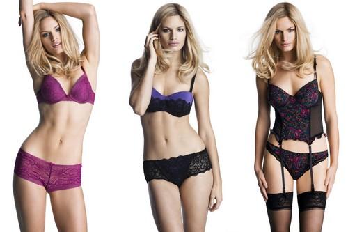 Caroline Winberg in lingerie hot