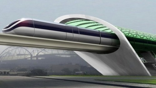 Hyperloop Trains