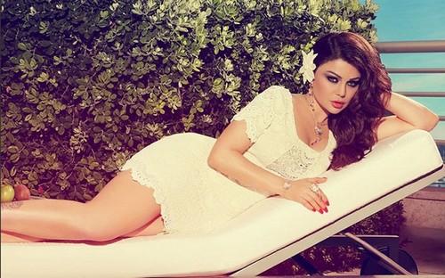 Lebanese Beauty Haifa Wehbe