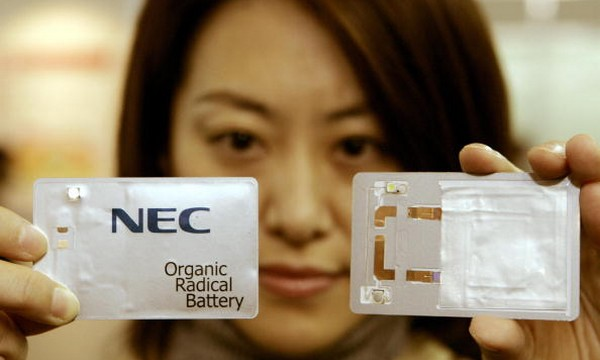 Organic Radical Batteries