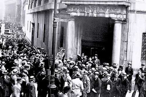 The 1929 Wall Street Crash