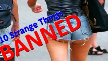 Top 10 Strange Things Banned