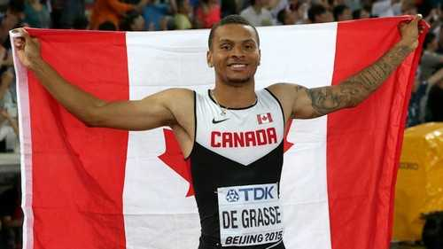Andre De Grasse Top 10 Canadian Athletes