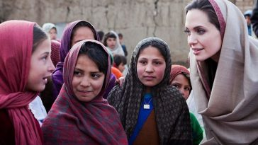 Angelina Jolie Humanitarian Work