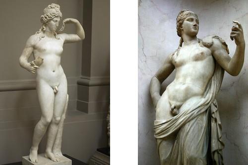 Aphroditus nude classical statue