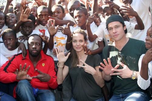 Brad Pit Humanitarian Work