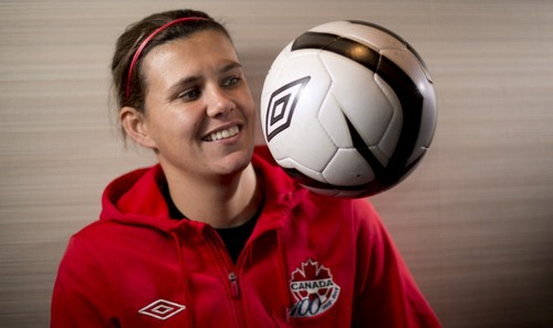 Christine Sinclair Top 10 Canadian Athletes