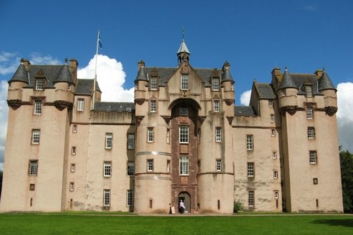 Fyvie Castle - Fyvie, Scotland