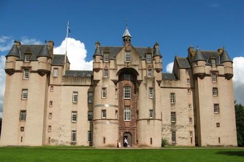 Fyvie Замок Fyvie, Шотландия