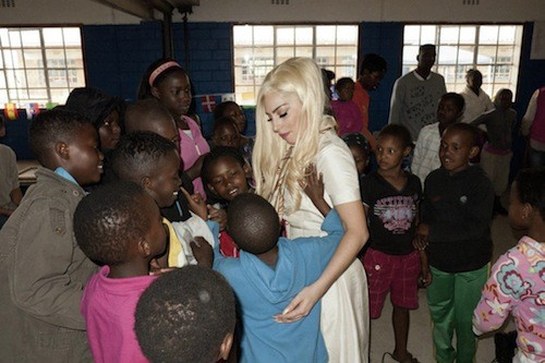 Lady Gaga Humanitarian WorkLady Gaga Humanitarian Work