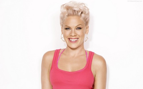 Pink Singer Short Hair