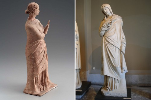 Pudicitia the Roman goddess