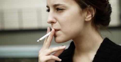 Smoking causes Irregular Menstrual Cycle