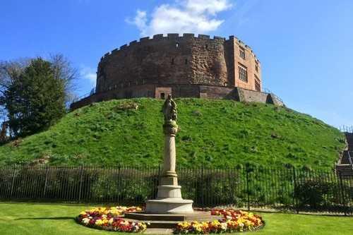 Замок Тамворт - Стаффордшир, Англия
