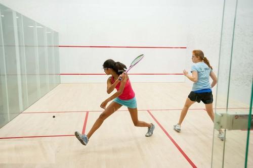 squash girls