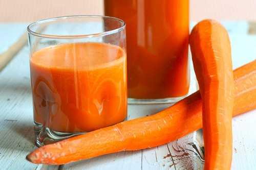Cantaloupe-Carrot-Juice