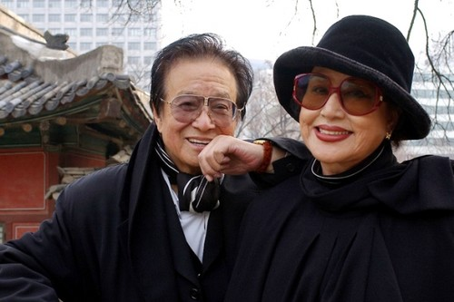 Film director Shin Sang-ok and his wife