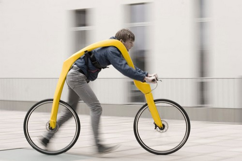 Foot Powered Bike
