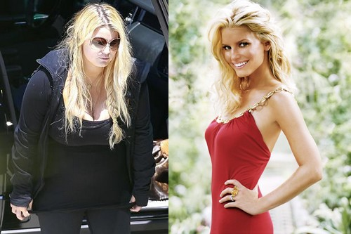 Jessica Simpson Hollywood Obese Celebrities
